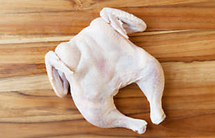 Whole Semi-Boneless Free-Range Poussin