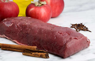 Venison Striploin Steak, Boneless