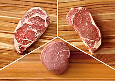 Pasture-Raised Beef Steak Lover's Gift Pack