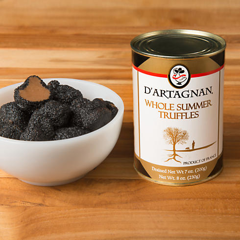 Whole Summer Truffles, Canned