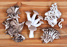 Fresh, Organic Chef's Mix Mushrooms
