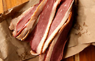 Duck Bacon: Applewood Smoked, Uncured