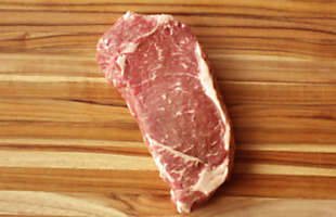 Pasture-Raised Beef NY Strip Steak, Boneless