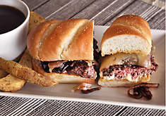 French Dip Burger Recipe | D'Artagnan