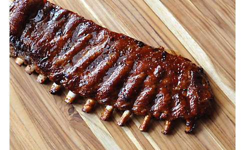 Bourbon-Brown Sugar Berkshire Pork Ribs | D'Artagnan