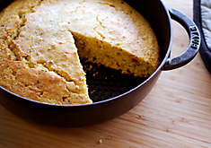 Cast-Iron Cornbread with HIckory Smoked Bacon | D'Artagnan