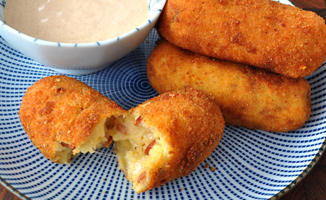 Chorizo Croquettes with Smoky Paprika Dipping Sauce Recipe | D'Artagnan