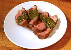 Duck Breast with Herb Butter