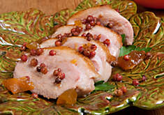 Sara Moulton's Sautéed Duck Breasts with Apricot Szechuan Peppercorn Sauce Recipe | D'Artagnan