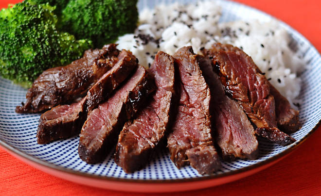 Kalbi or Galbi Korean BBQ Beef Hanger Steak Recipe | D'Artagnan