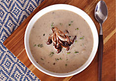 Creamy Organic Mushrooms Soup Recipe | D'Artagnan
