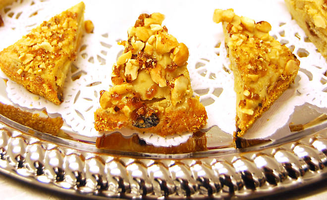 Foie Gras Toasts with Candied Hazelnuts Recipe | D'Artagnan