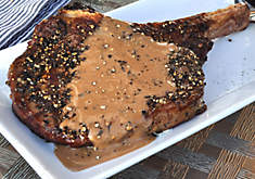 Grilled Ribeye Steak au Poivre Recipe | D'Artagnan