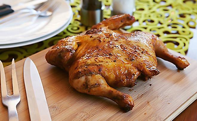 Recipes for chicken under a brick