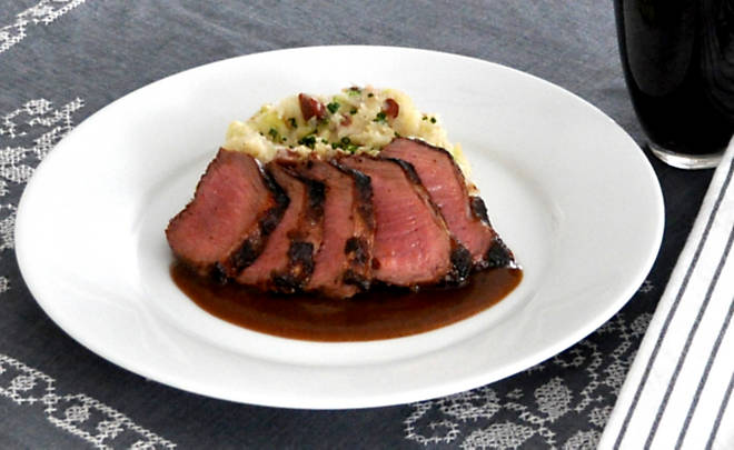 Irish Stout Lamb Loin with Colcannon Recipe | D'Artagnan