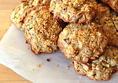 Oatmeal Cookies with Bacon, Apple & Pecans Recipe | D'Artagnan