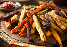 Oven-Roasted Veggie Fries (Gluten Free) Recipe | D'Artagnan