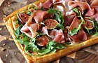 Fresh Fig and Prosciutto Puff Pastry Tart Recipe. D'Artagnan