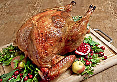 Roast Turkey with Black Truffle Butter Recipe | D'Artagnan