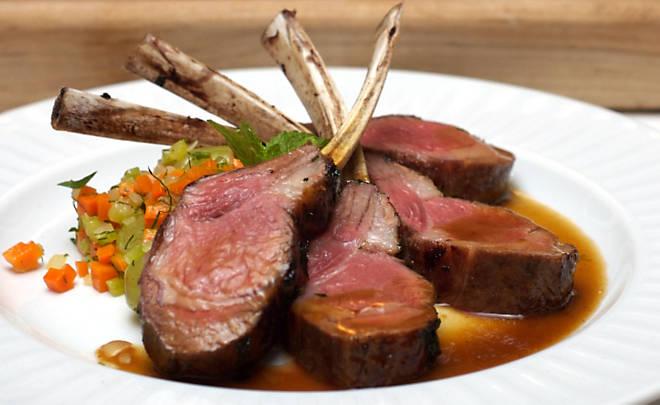 Roasted Rack Of Lamb Recipe — Dishmaps