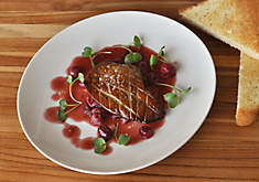Seared Foie Gras with Cranberries Recipe | D'Artagnan