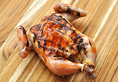 Easy Grilled Sleeve-Boned Poussin Recipe | D'Artagnan