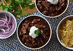 Texas-Style Beef Short Rib Chili with Beer Recipe | D'Artagnan