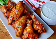 Buffalo Chicken Wings with Black Truffle Butter Recipe | D'Artagnan