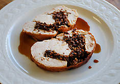 Turkey Breast with Mushroom Stuffing Recipe | D'Artagnan