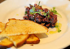 Chris Cosentino's Venison Tartare with Foie Gras Recipe | D'Artagnan