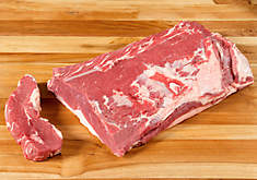 Grass-Fed Beef Striploin, Boneless