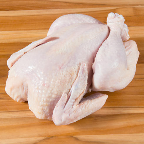 Whole Certified-Organic Free-Range Chicken