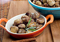 Ready-to-Use Chestnuts, Cooked & Skinless