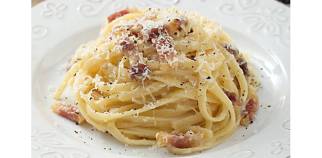 Quick and Easy Bacon Pasta Carbonara Recipe | D'Artagnan