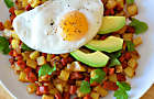 Chorizo Sausage & Potato Hash with Eggs Recipe. D'Artagnan