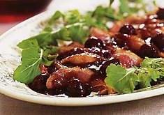 Ann Willan's Duck Breasts with Cherries Recipe | D'Artagnan