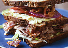 Blue Ribbon Cookbook Duck Club Sandwich Recipe | D'Artagnan