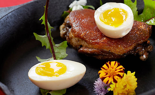 how to cook duck eggs soft boiled
