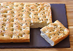 Duck Fat Focaccia Bread with Herbs & Sea Salt Recipe | D'Artagnan