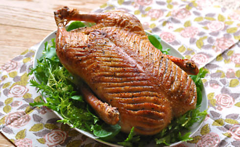 Easy Roast Whole Duck