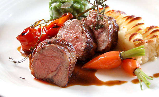 Cannon of Lamb with Red Wine Reduction Recipe | D'Artagnan