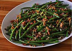 Lemony Green Beans with Bacon & Shallots Recipe | D'Artagnan