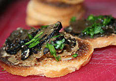 Eugenia Bone's Bruschetta with Porcini Butter and Truffles Recipe | D'Artagnan