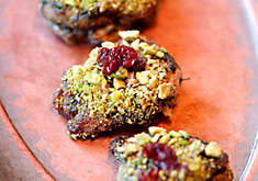 Ana Sortun's Quail with Roasted Sunchokes, Barberries & Pistachio Recipe | D'Artagnan