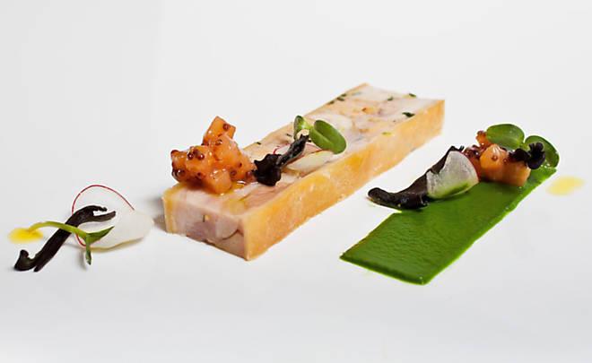 rabbit foie gras terrine en croute recipe d 39 artagnan. Black Bedroom Furniture Sets. Home Design Ideas