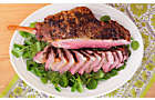 Roast Bone-In Leg of Lamb Recipe with Herbs and Red Wine Sauce | D'Artagnan
