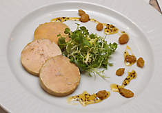 Bill Peet's Salt-Cured Foie Gras Torchon with Black Pepper Caramel Sauce Recipe | D'Artagnan