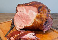 Smoked Heritage Berkshire Ham with Apricot-Ginger Glaze Recipe | D'Artagnan