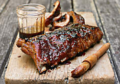 Ray Lampe Sweet-and-Sticky Baby Back Ribs Recipe | D'Artagnan